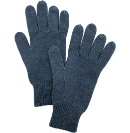 Knit Cashmere Gloves Charcoal