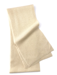 Pure Cashmere Scarf Beige For Man